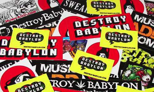 Get FREE stickers